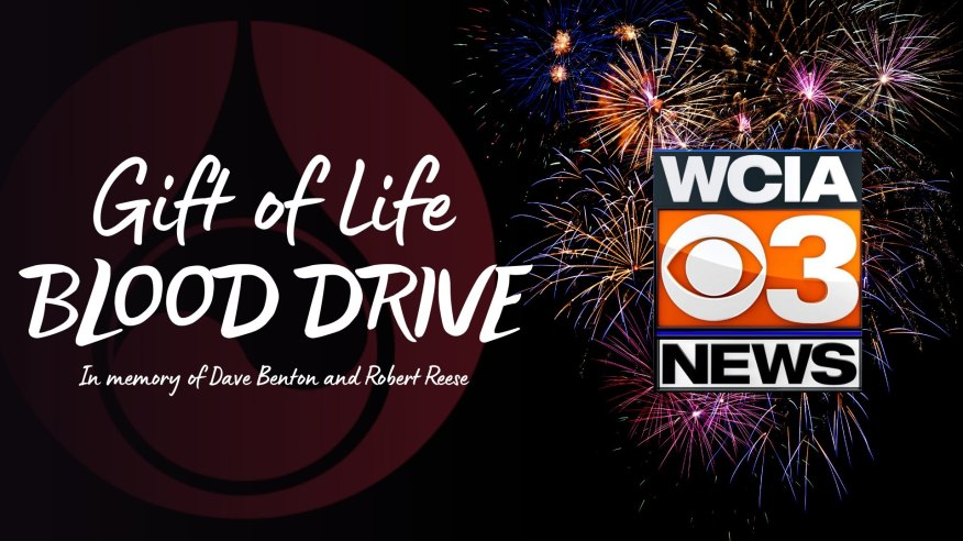 WCIA Gift of Life Blood Drive