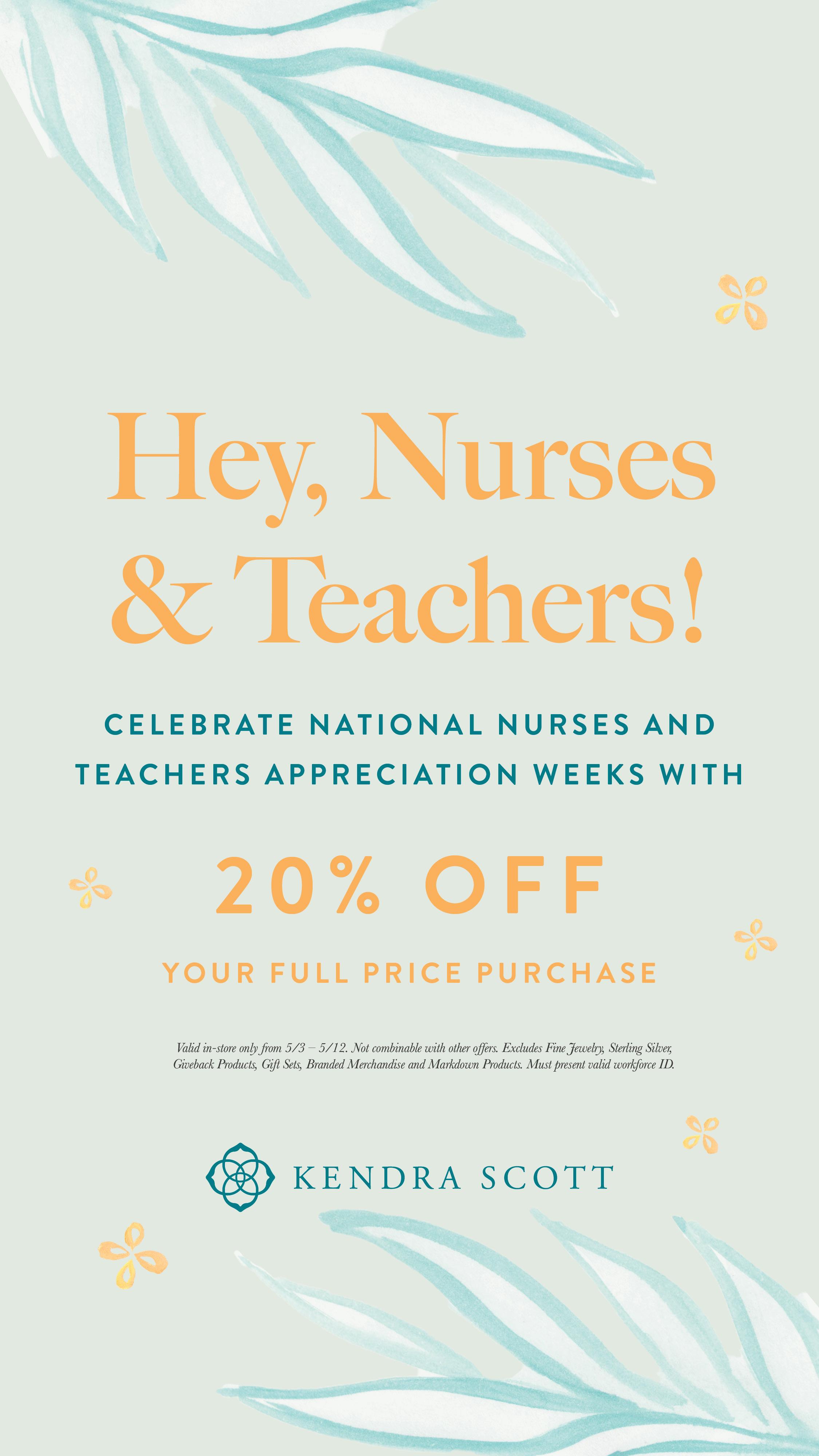 Teacher and Nurse Appreciation