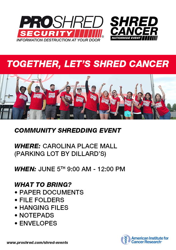 Community Shredding Event