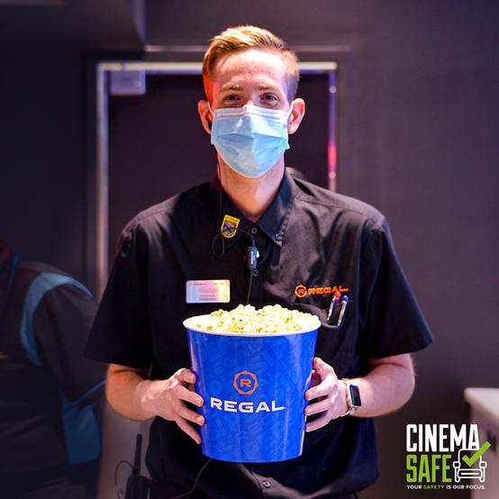 Regal Cinemas now open