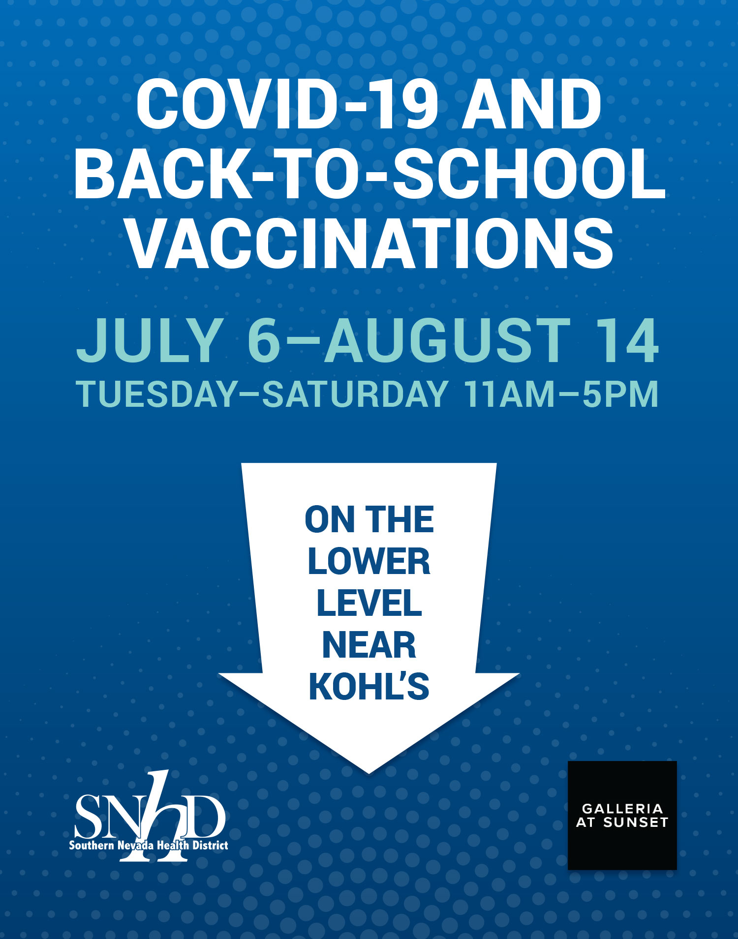 COVID-19  and Back-To - School Vaccinations