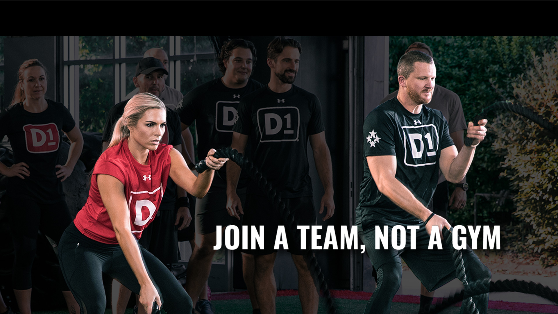 Join a Team, Not a Gym