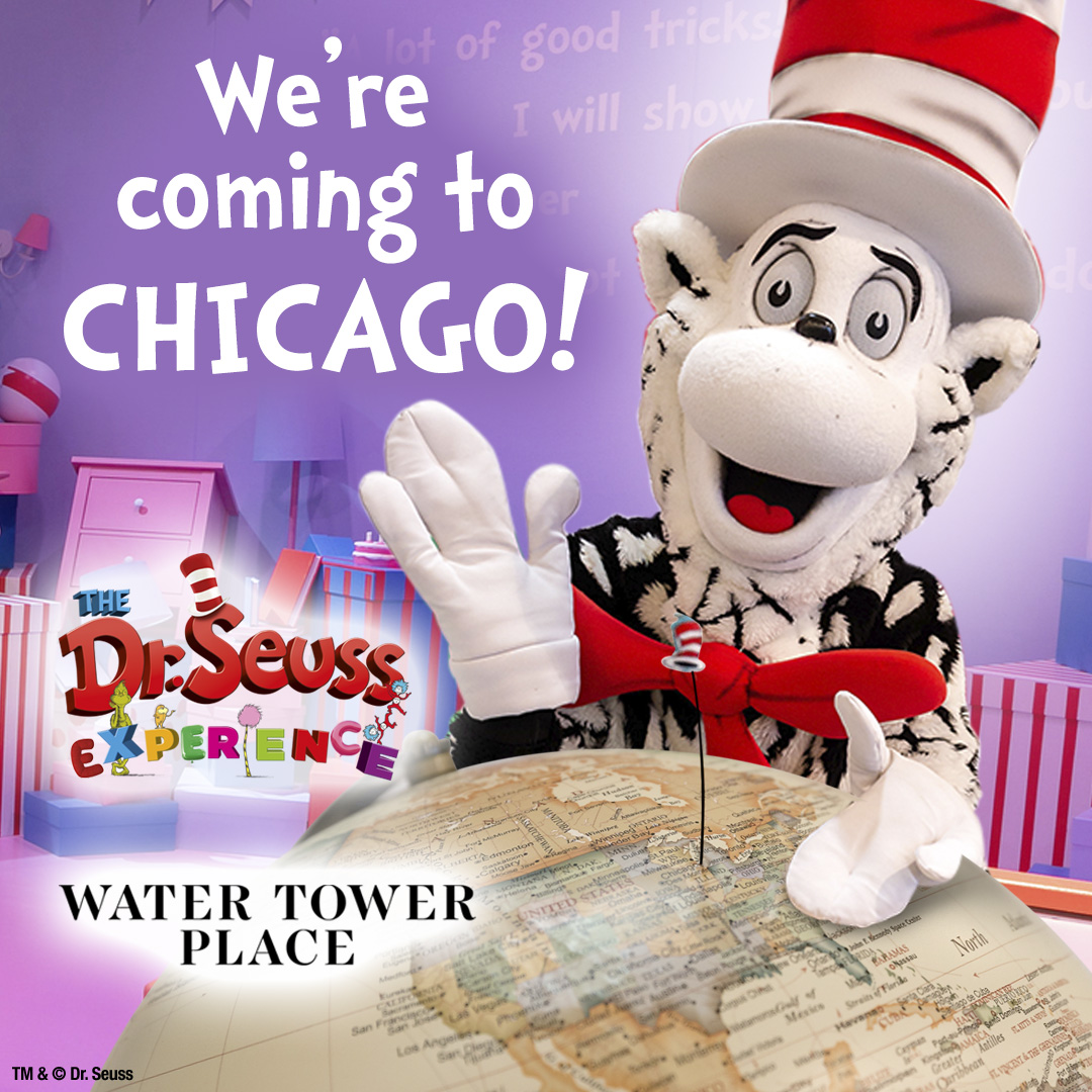 Dr Suess is coming to Chicago