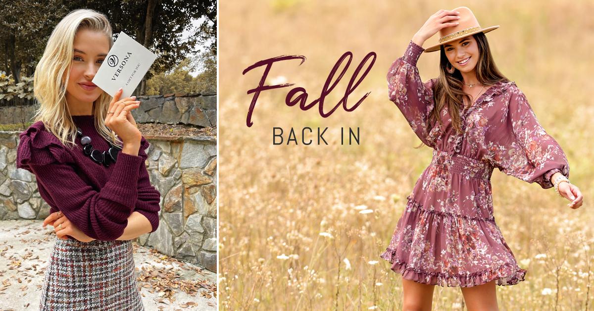 Fall Back Into Versona