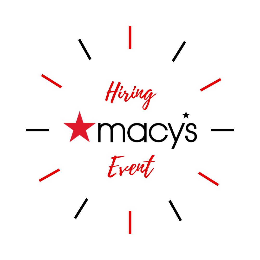 Macy's Hiring Event