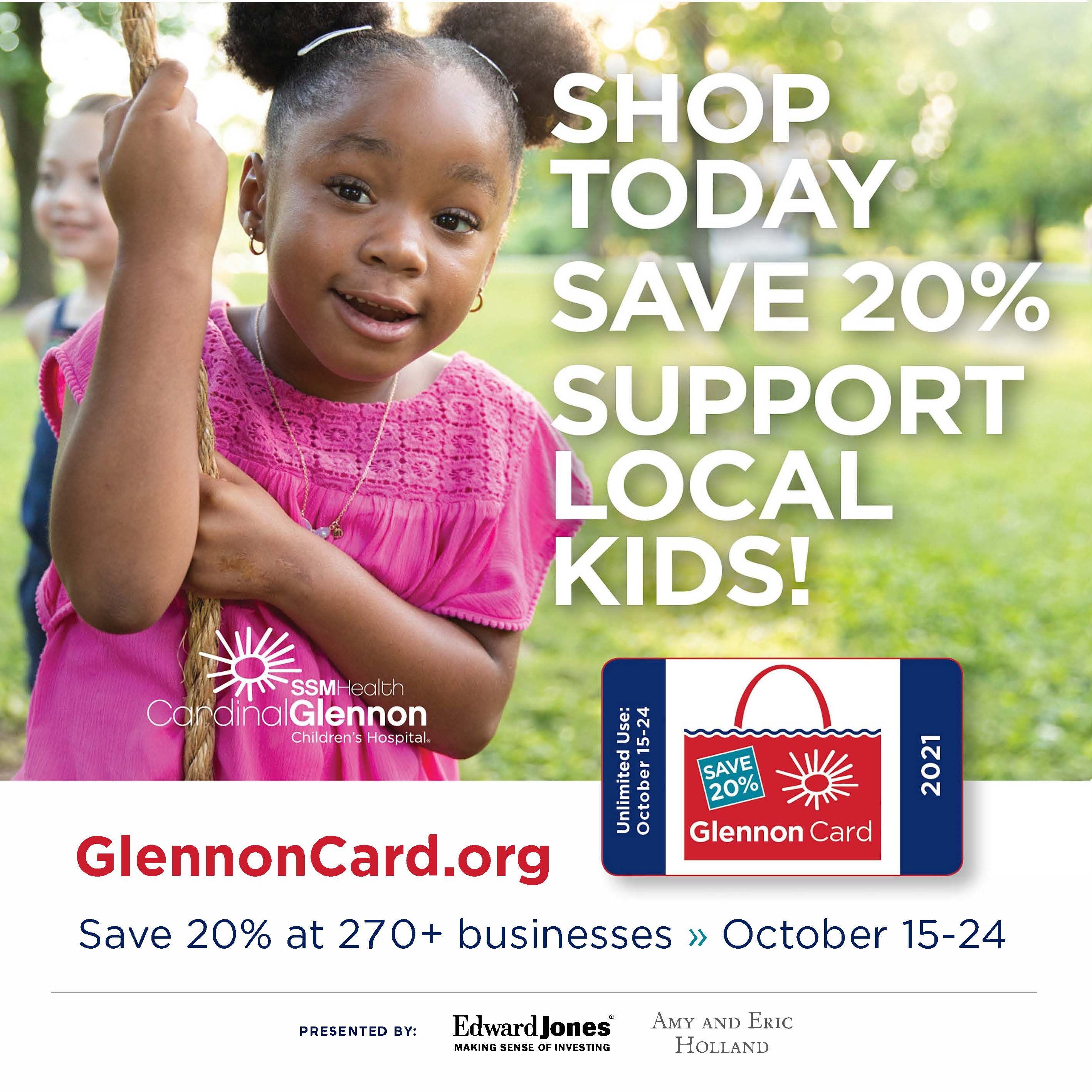 shop local and support local kids