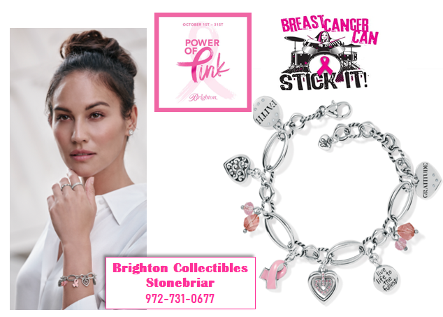 Brighton Collectibles Celebrates Power of Pink!