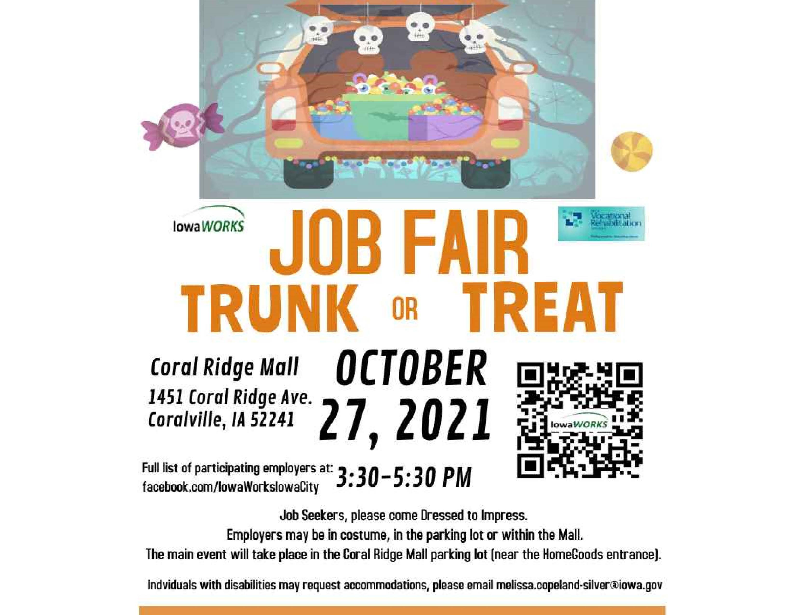Trunk or Treat Job Fair