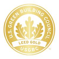 LEED Gold certified