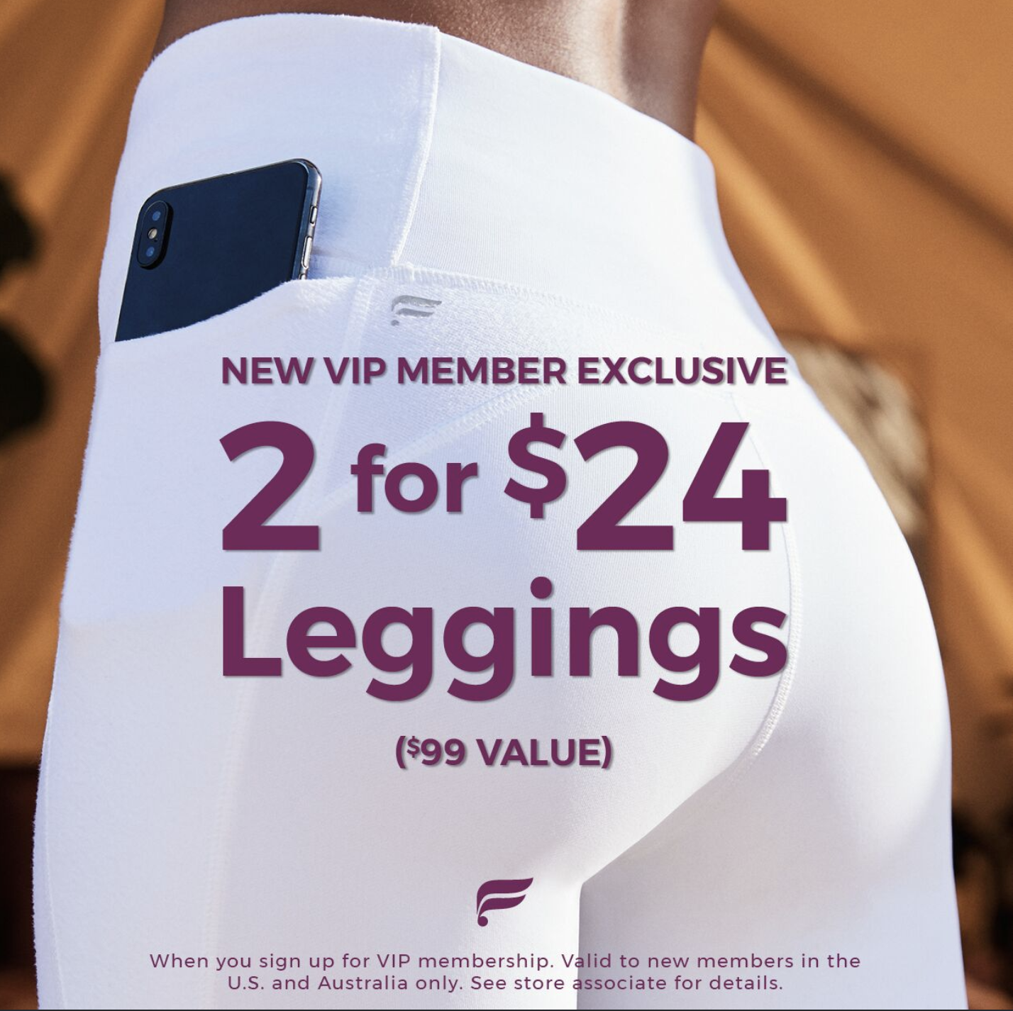 2 for $24 Leggings from Fabletics