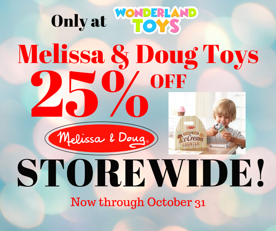 October Sale! from Wonderland Toys
