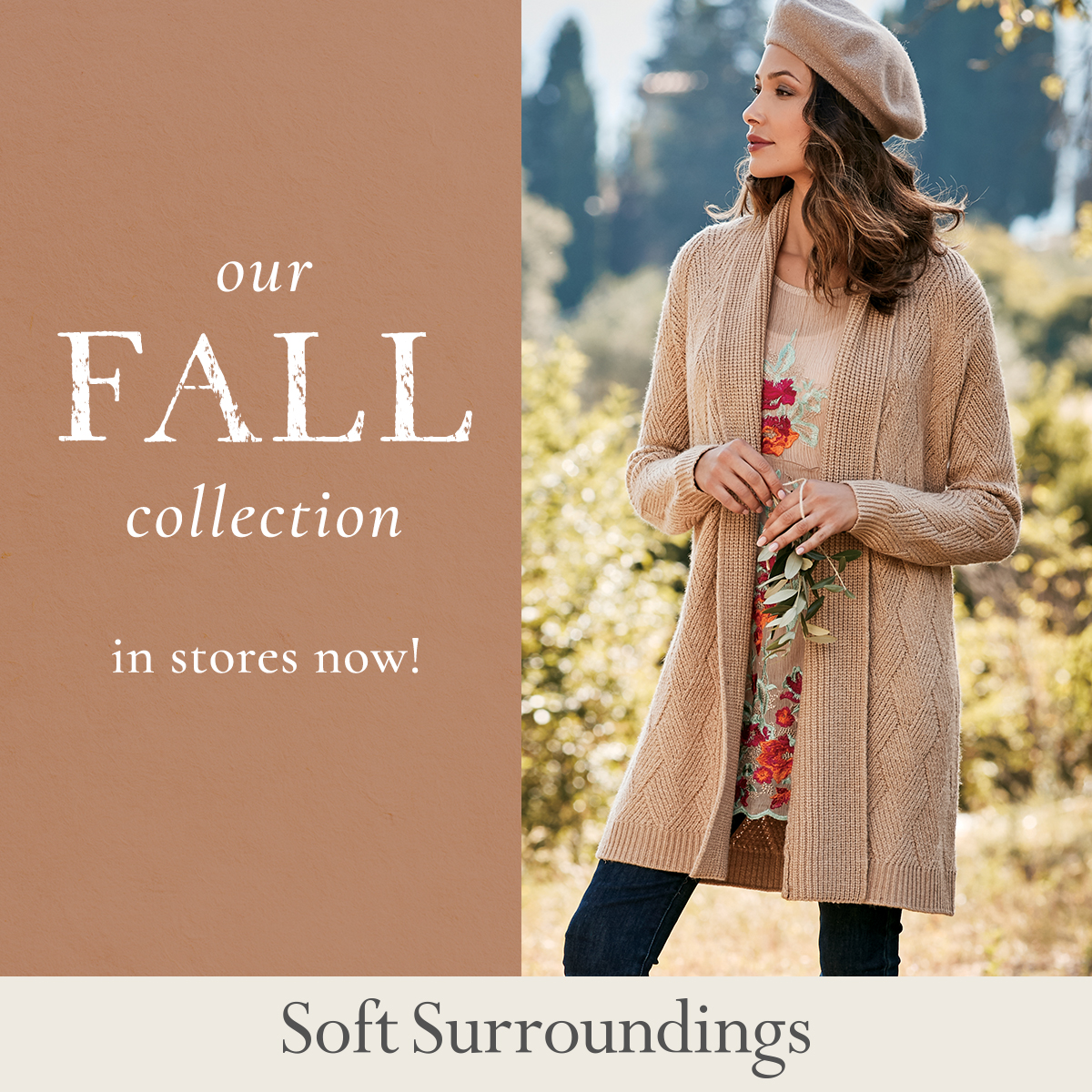 Soft Surroundings Fall Collection Now in Stores! from Soft Surroundings