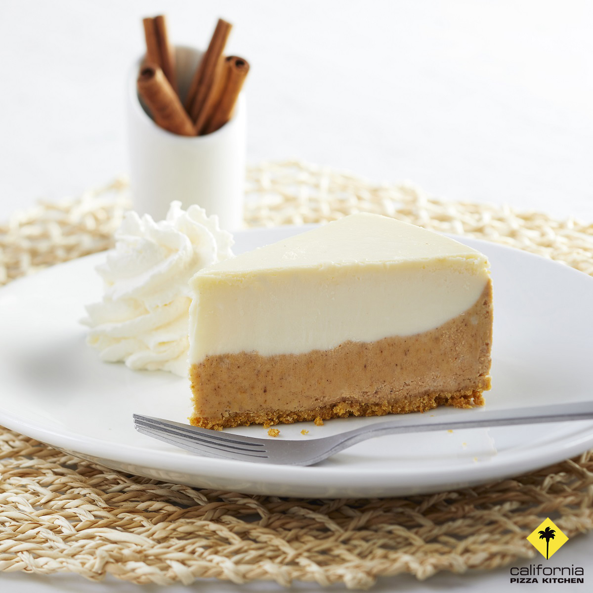 Try the Pumpkin Cheesecake from California Pizza Kitchen