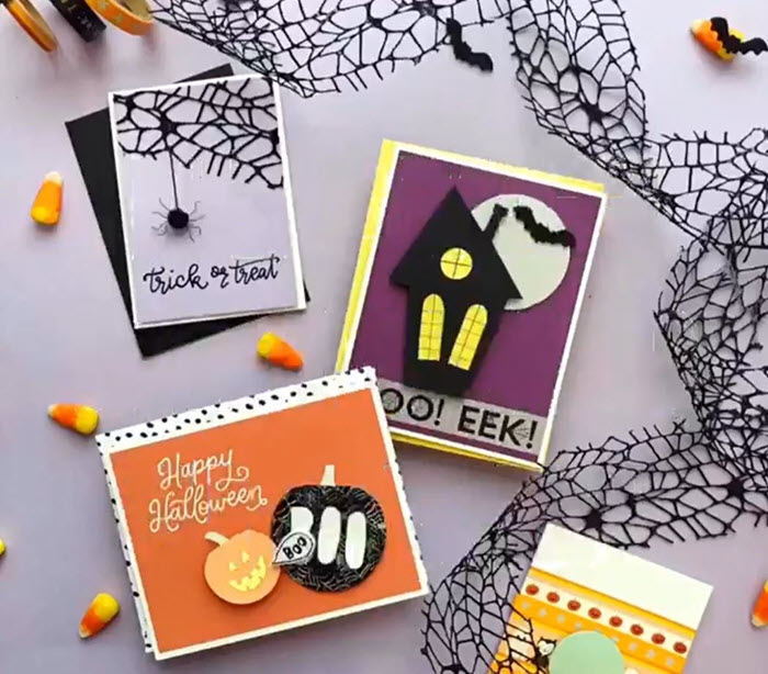 Halloween Card Making Workshop!