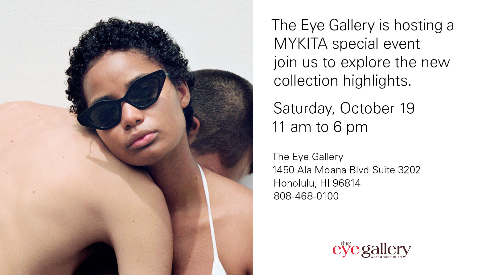 MYKITA Trunk Show from The Eye Gallery