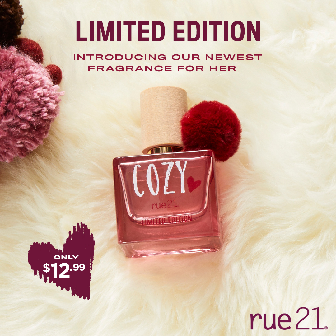 Cozy Fragrance Launch from rue21
