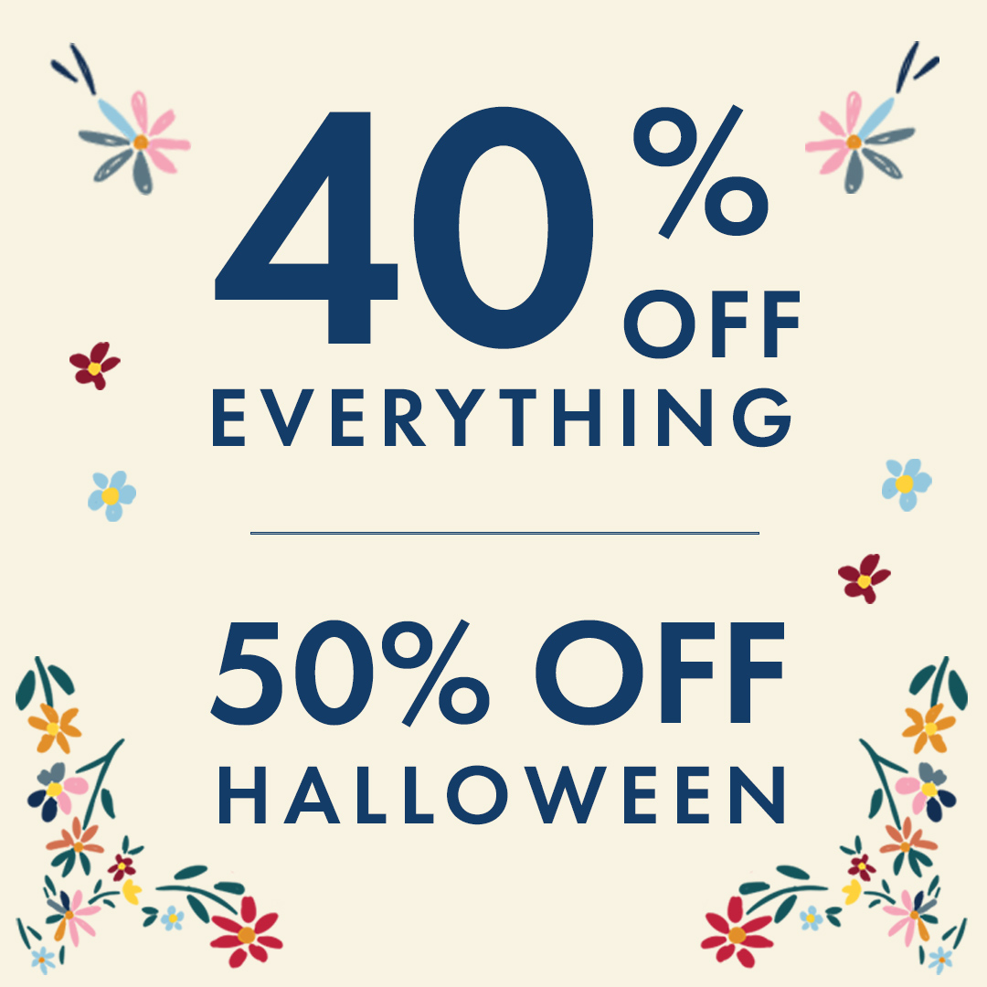 40% off EVERYTHING from Hanna Andersson