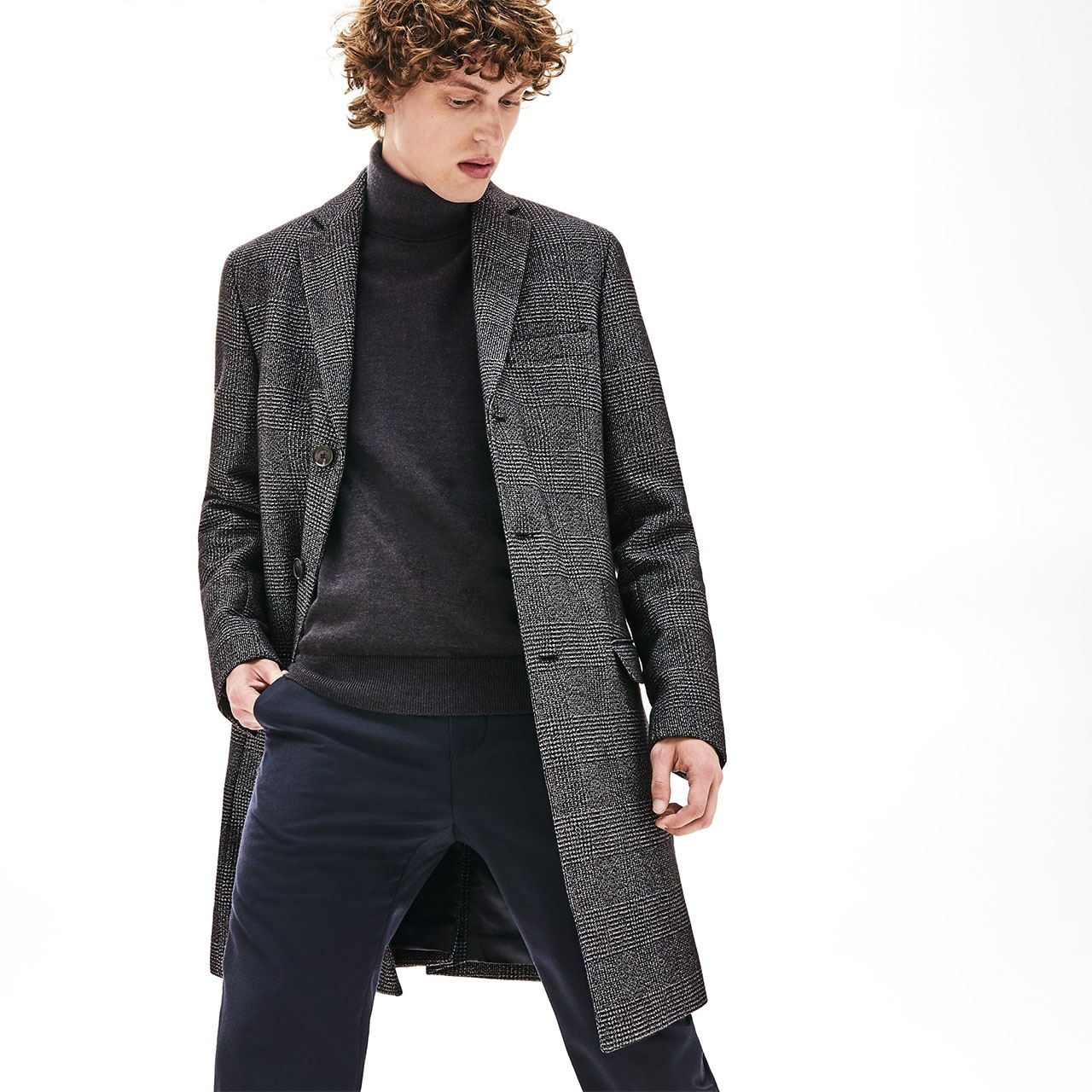 Take it to the street in this season's perfect storm of outerwear. from Lacoste