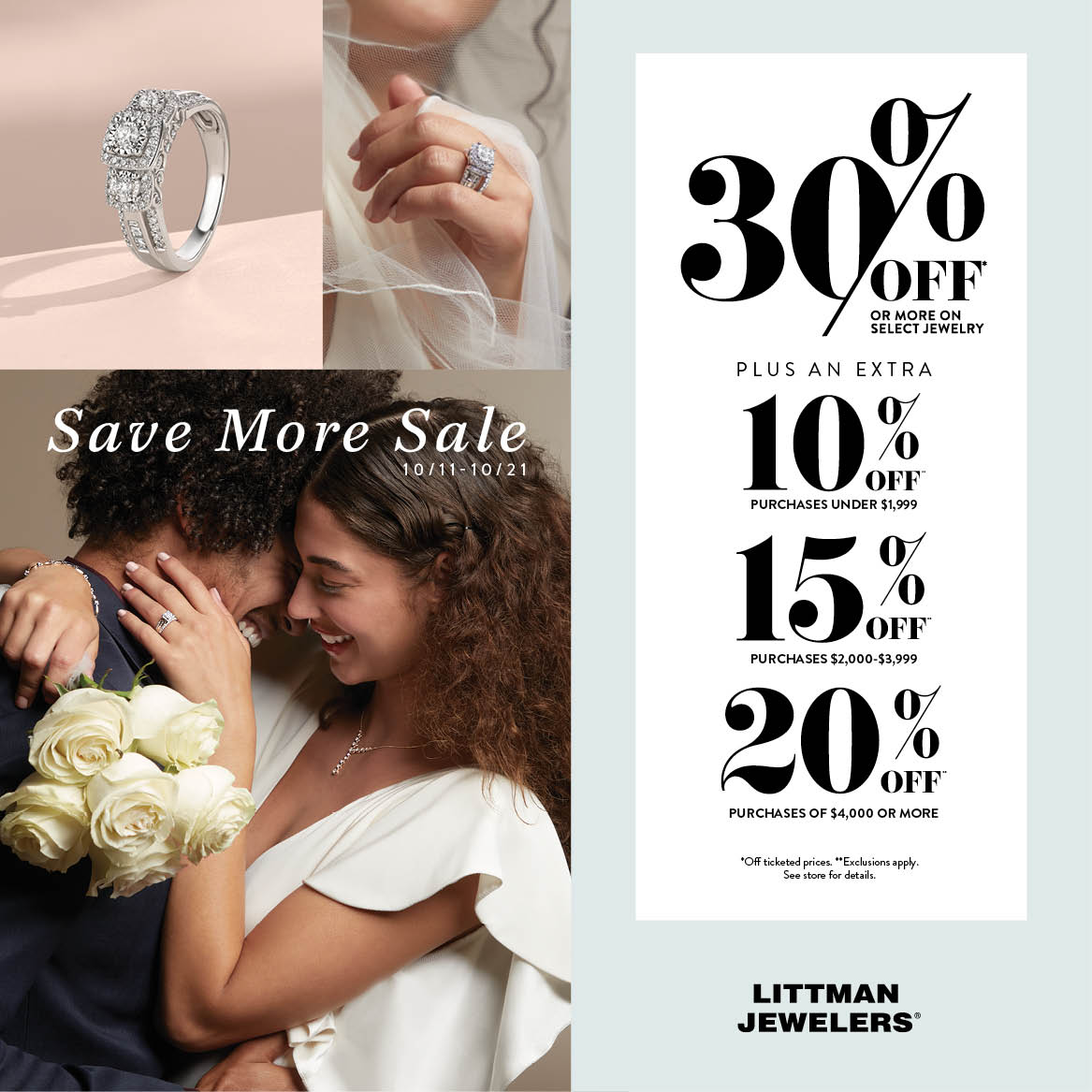 Save More! from Littman Jewelers