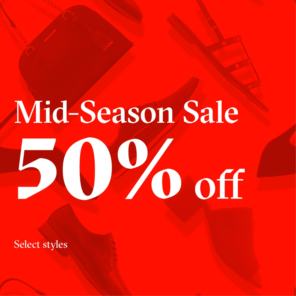 Mid-Season Sale! from ALDO