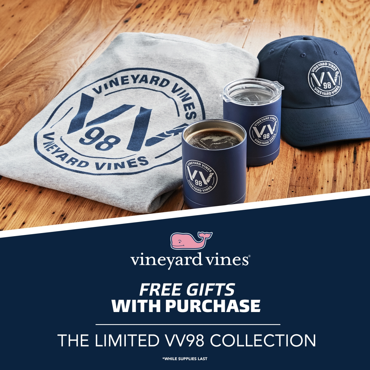 The Limited VV98 Collection from vineyard vines