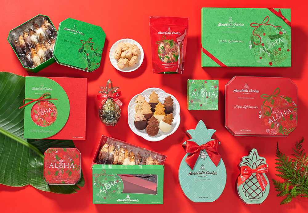 Honolulu Cookie Company's Holiday Collection Now Available from Honolulu Cookie Company