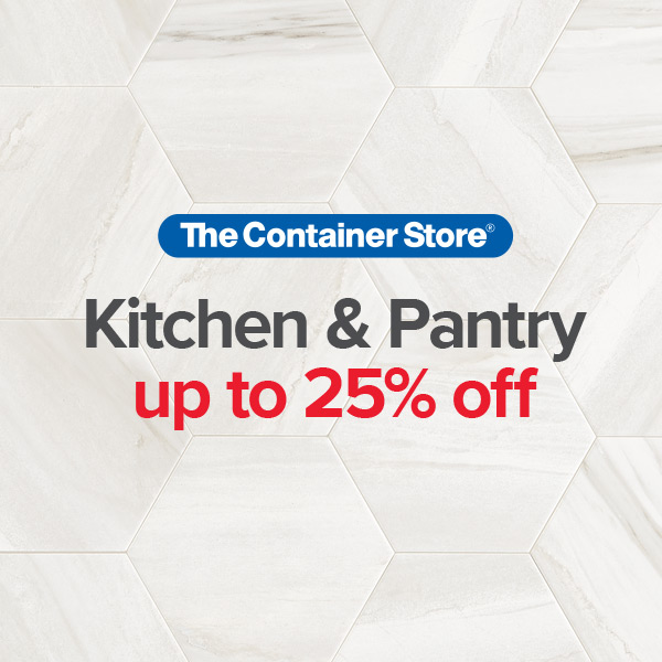 Kitchen and Pantry Sale from The Container Store