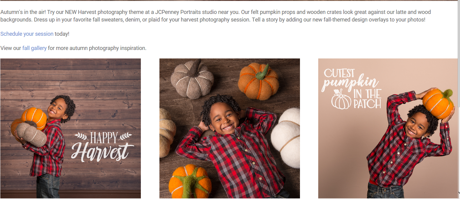 JCP Fall Photos from JCPenney