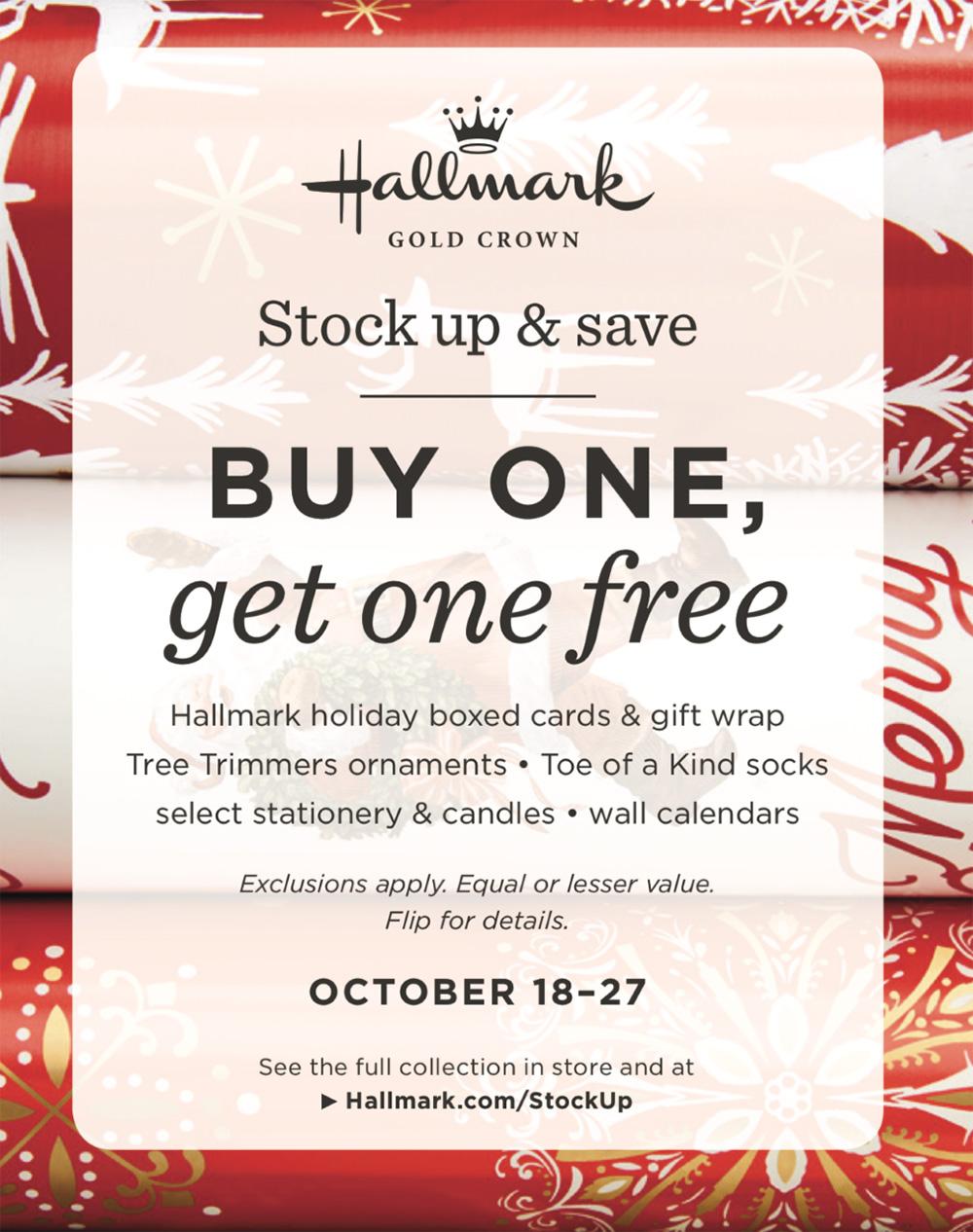 Hallmark Stock Up & Save from Hallmark
