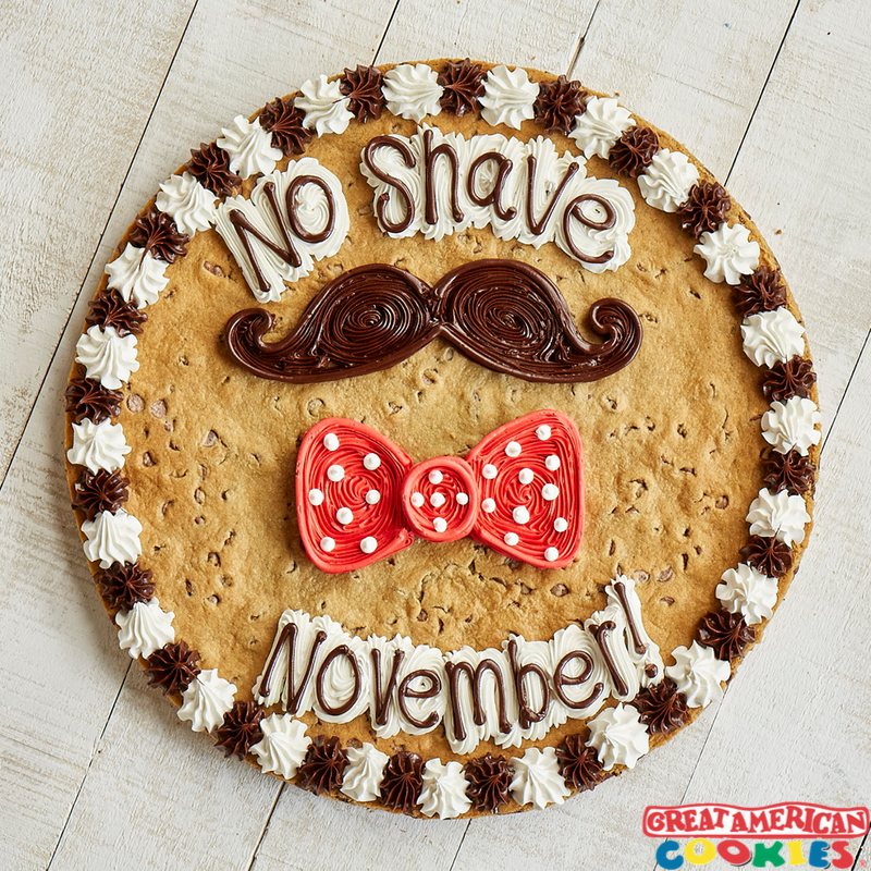 Celebrate No Shave November with Great American Cookie Company from Great American Cookie Co.