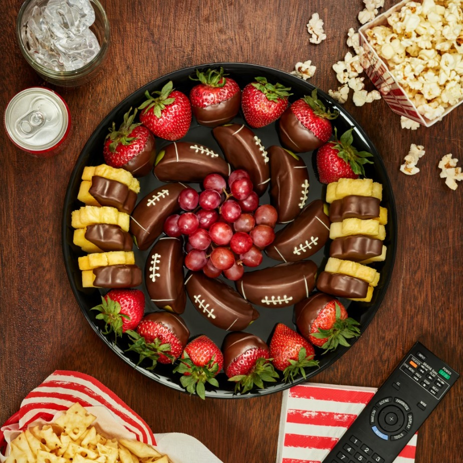 Game Day Indulgence Platter- Now Available! from Edible Arrangements