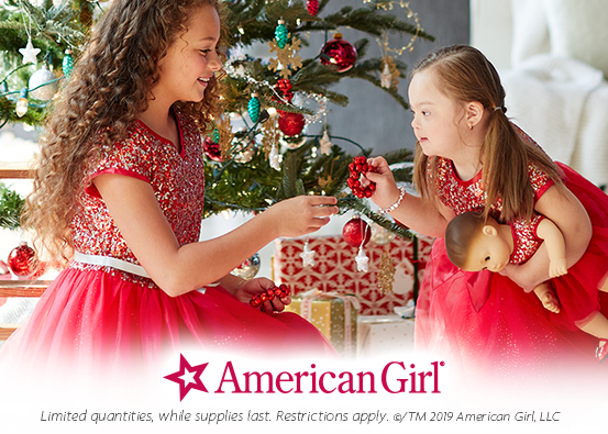 Memories made to match from American Girl Place