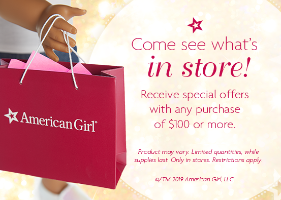 Come see what's in store! from American Girl Place