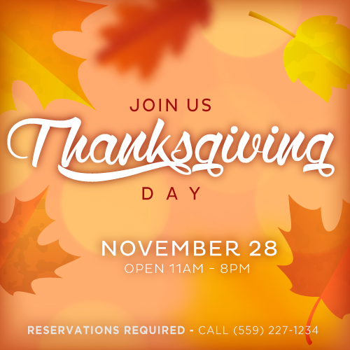 Thanksgiving Meal at Elbow Room from Elbow Room