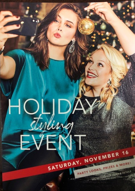 Holiday styling event