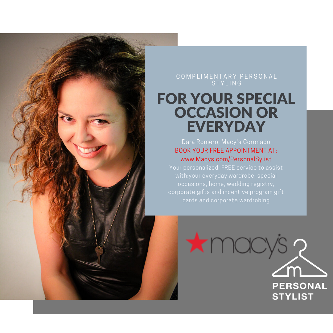 Complimentary Personal Styling from macy's