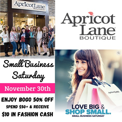 BOGO 50% Off from Apricot Lane Boutique