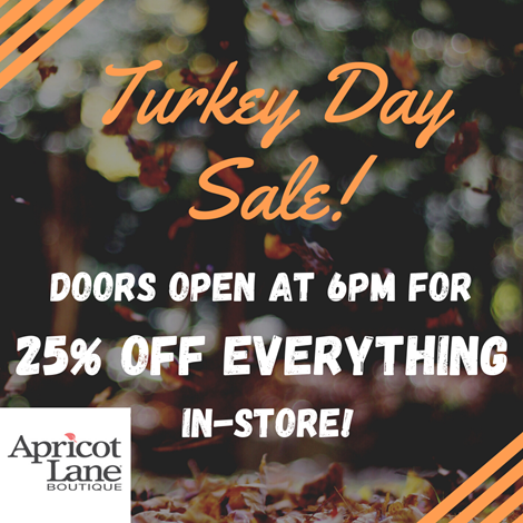 25% Off Everything from Apricot Lane Boutique