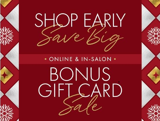 Gift Card Sale from Gene Juarez Salons