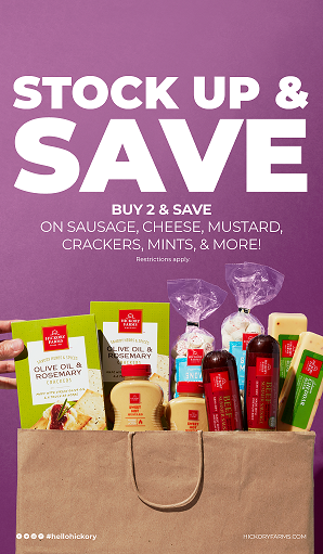 Buy 2 & Save from Hickory Farms