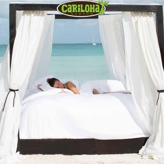 Experience Cariloha's luxuriously soft bedding, clothing and bath goods! from Cariloha Bamboo