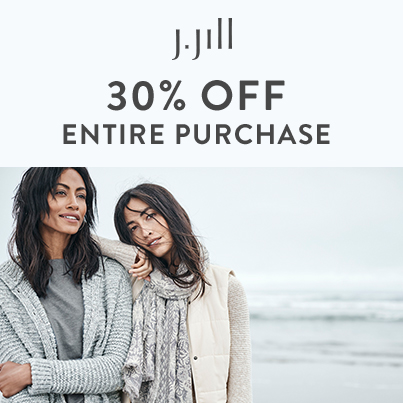 Extra 30% Off Entire Purchase from J.Jill
