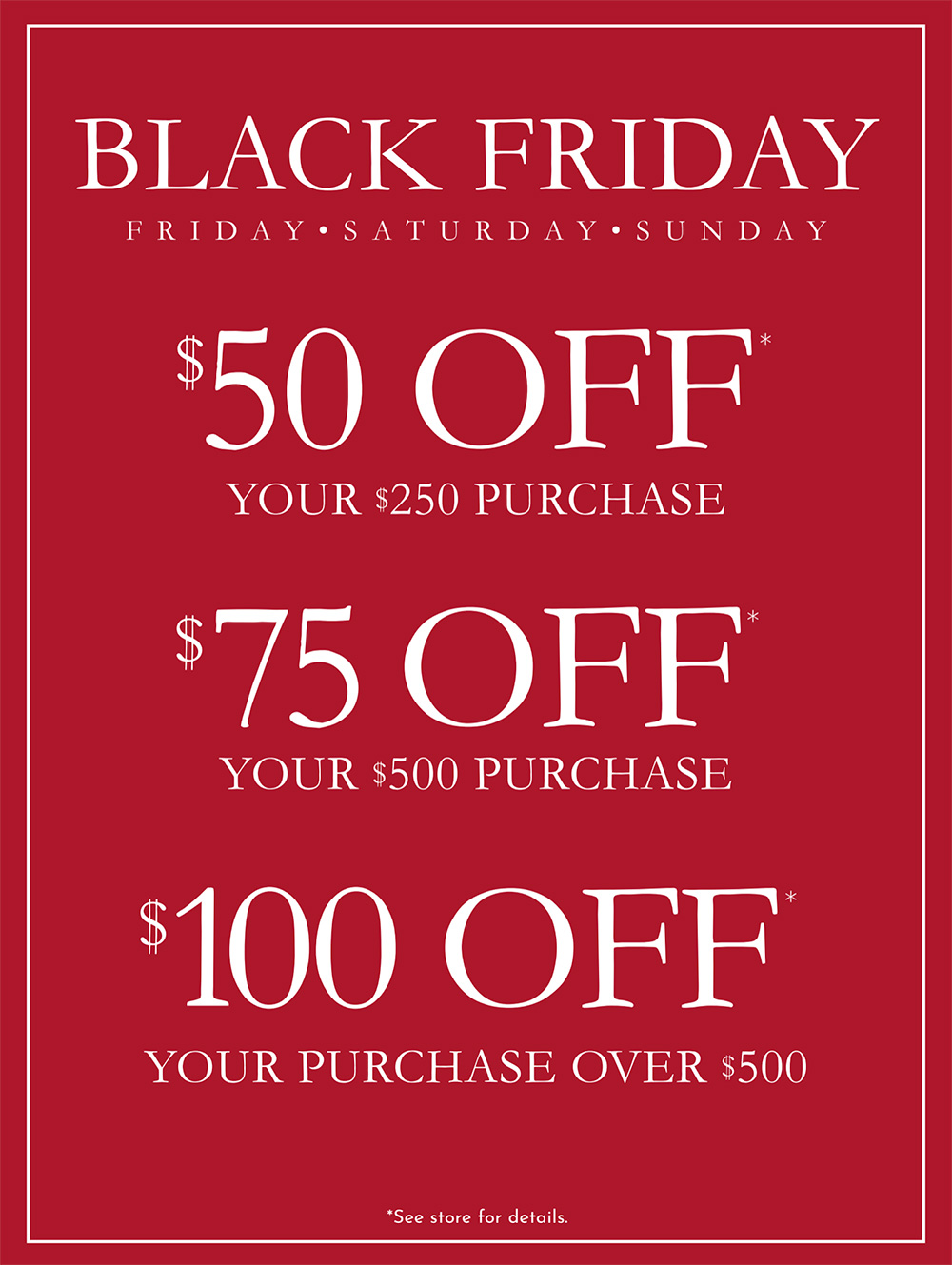 Black Friday Sale from The Eye Gallery