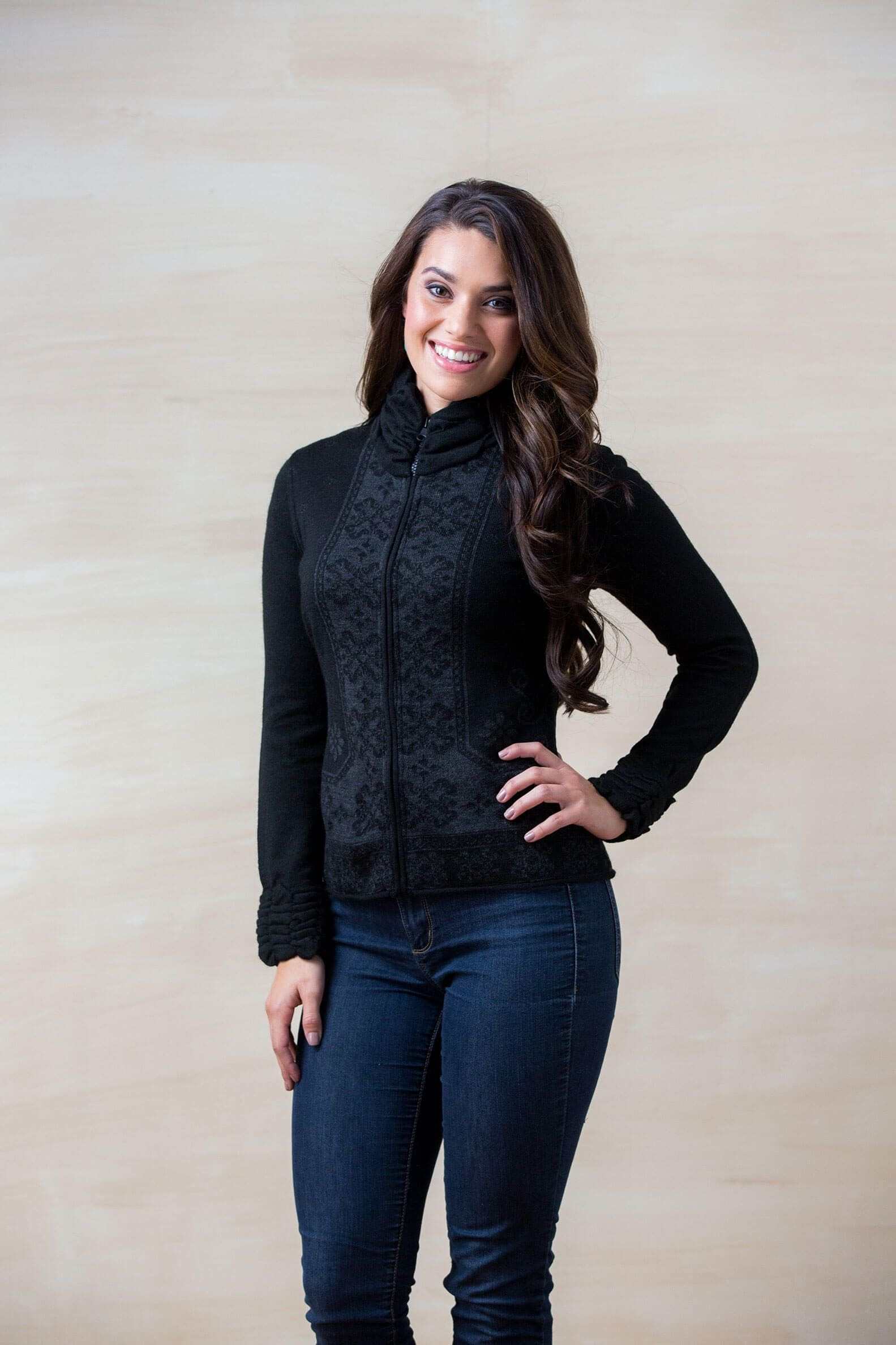 Karita Sweater from Sheepskin & Alpaca Specialties