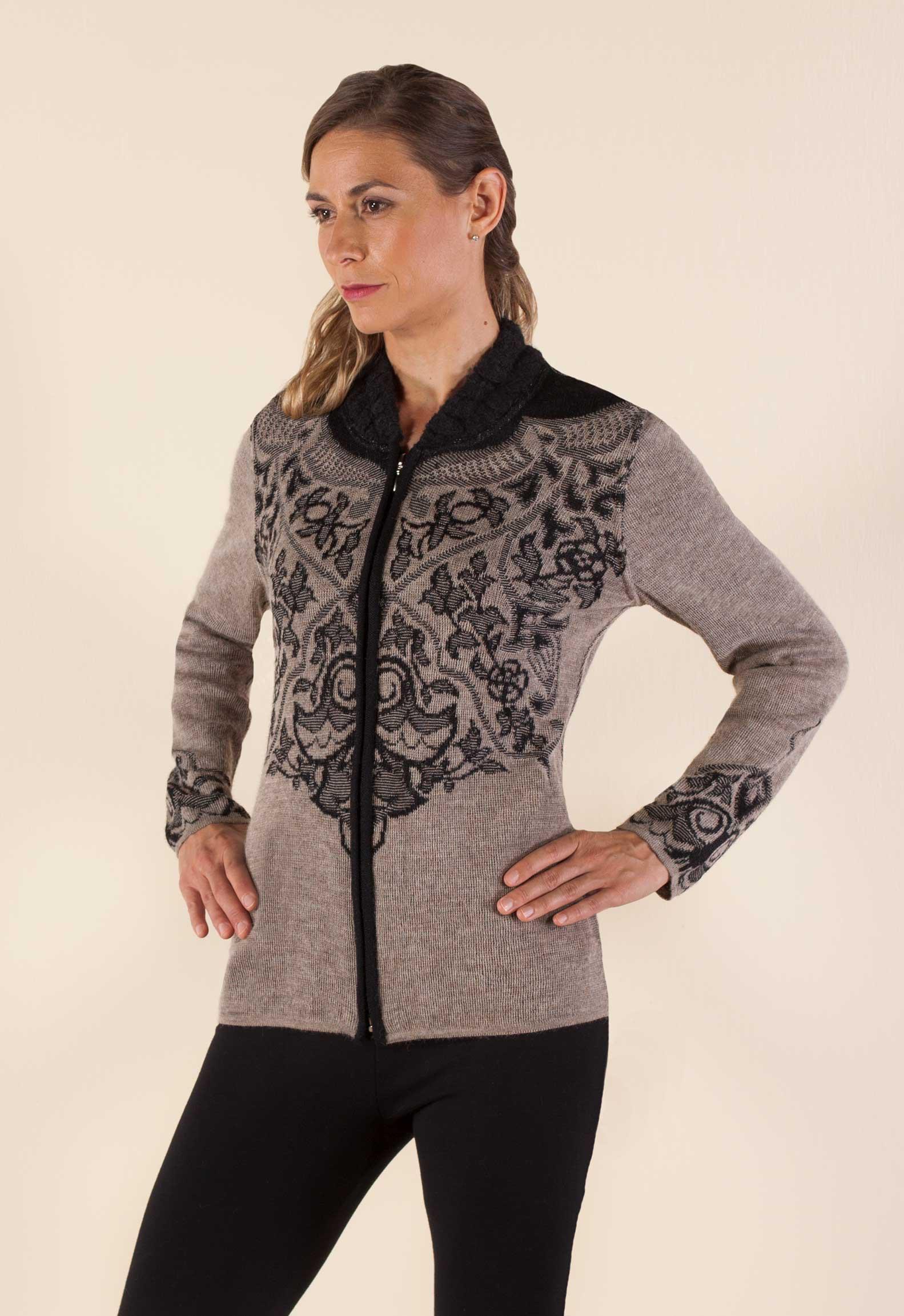 The Ana Sweater from Sheepskin & Alpaca Specialties
