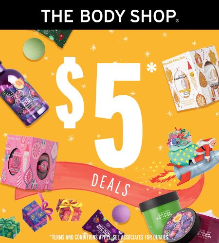$5 DEALS! from The Body Shop