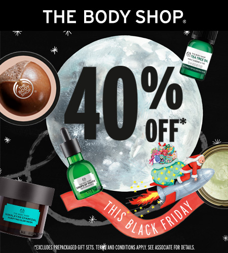 40% OFF from The Body Shop