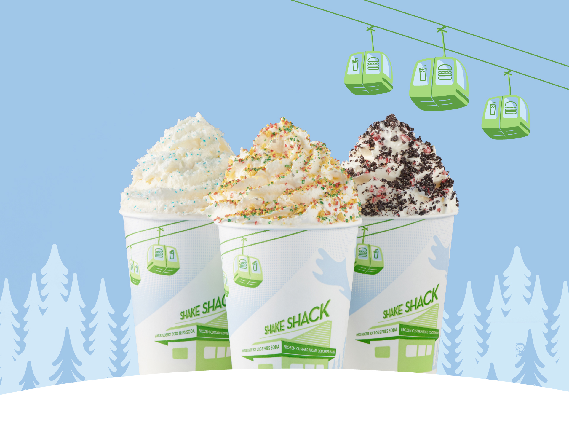 Holiday Shake from Shake Shack