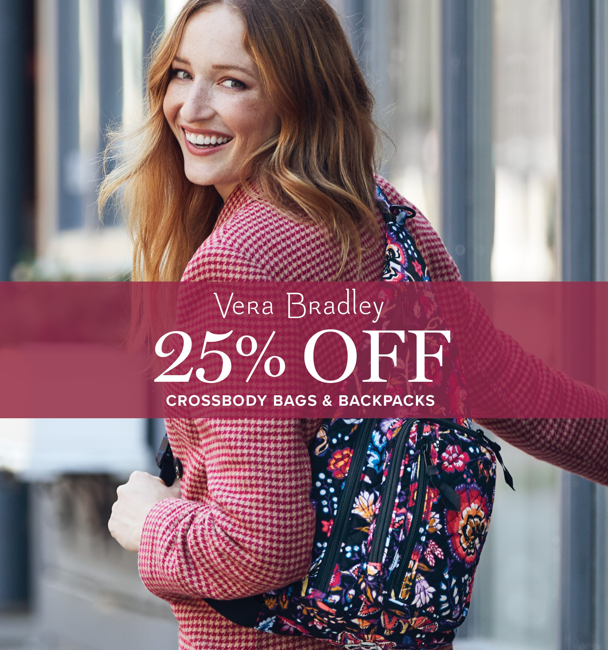 Crossbody Bags & Backpack Sale from Vera Bradley