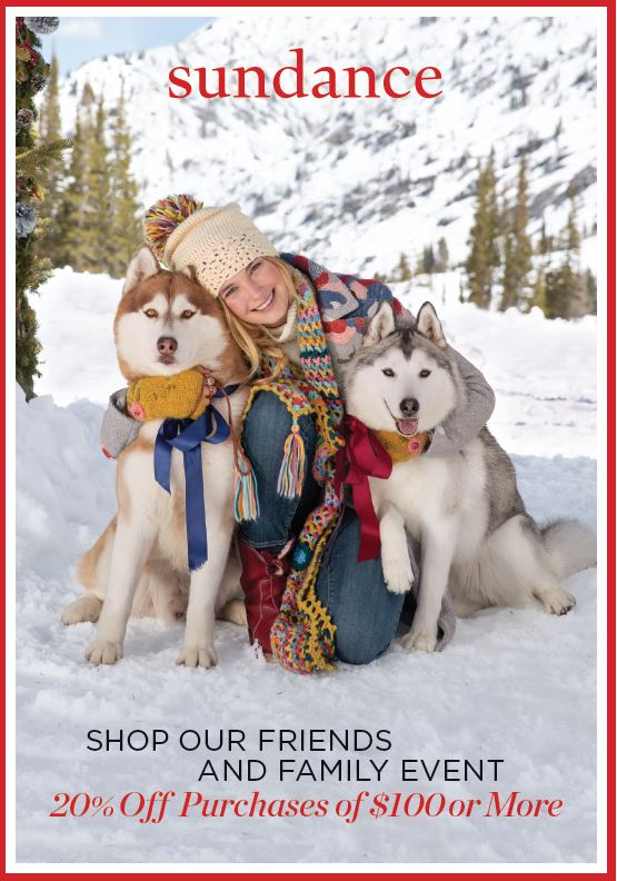 Friends & Family Event from Sundance